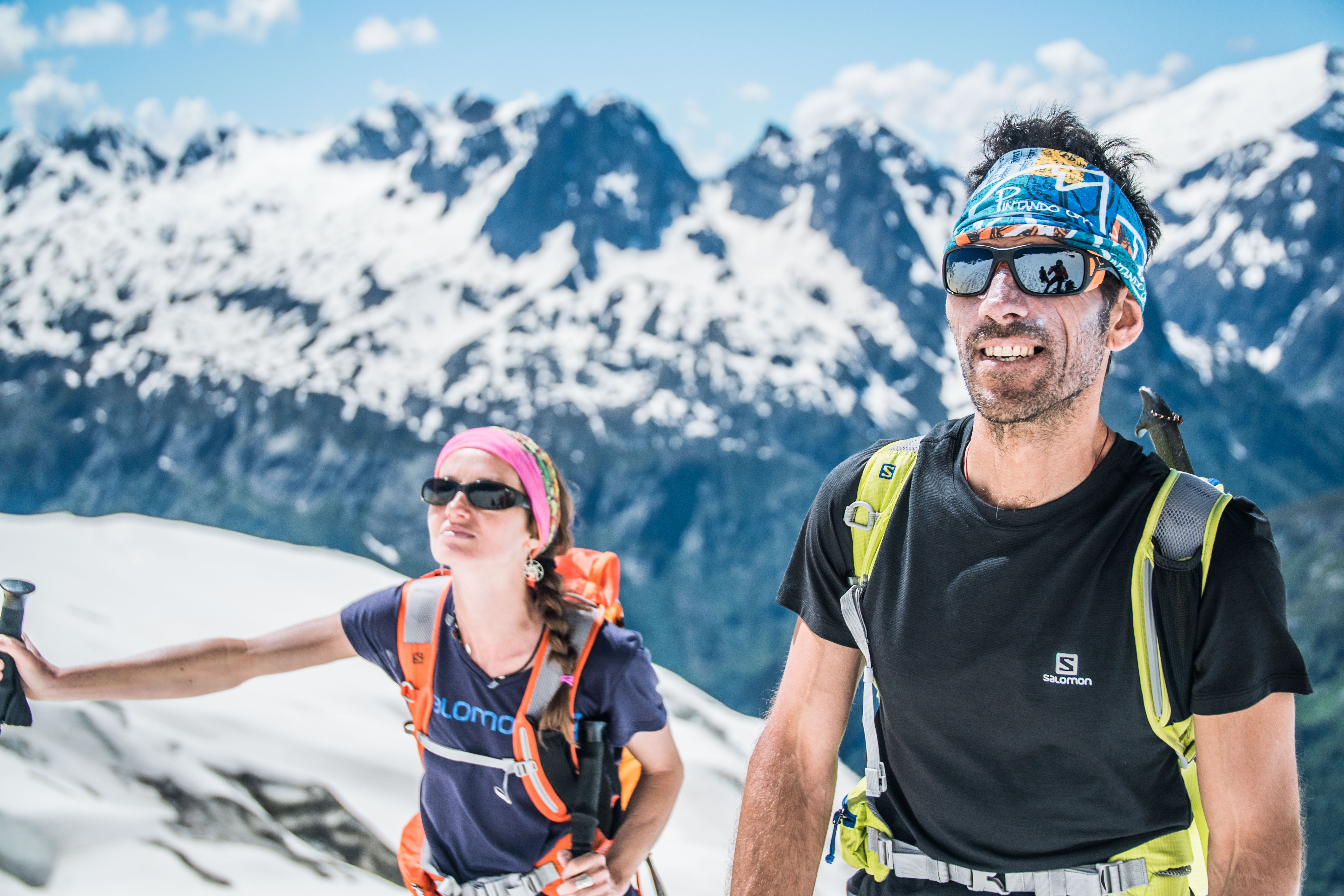 Alpine guide Jordi Tosas |  The French Alps