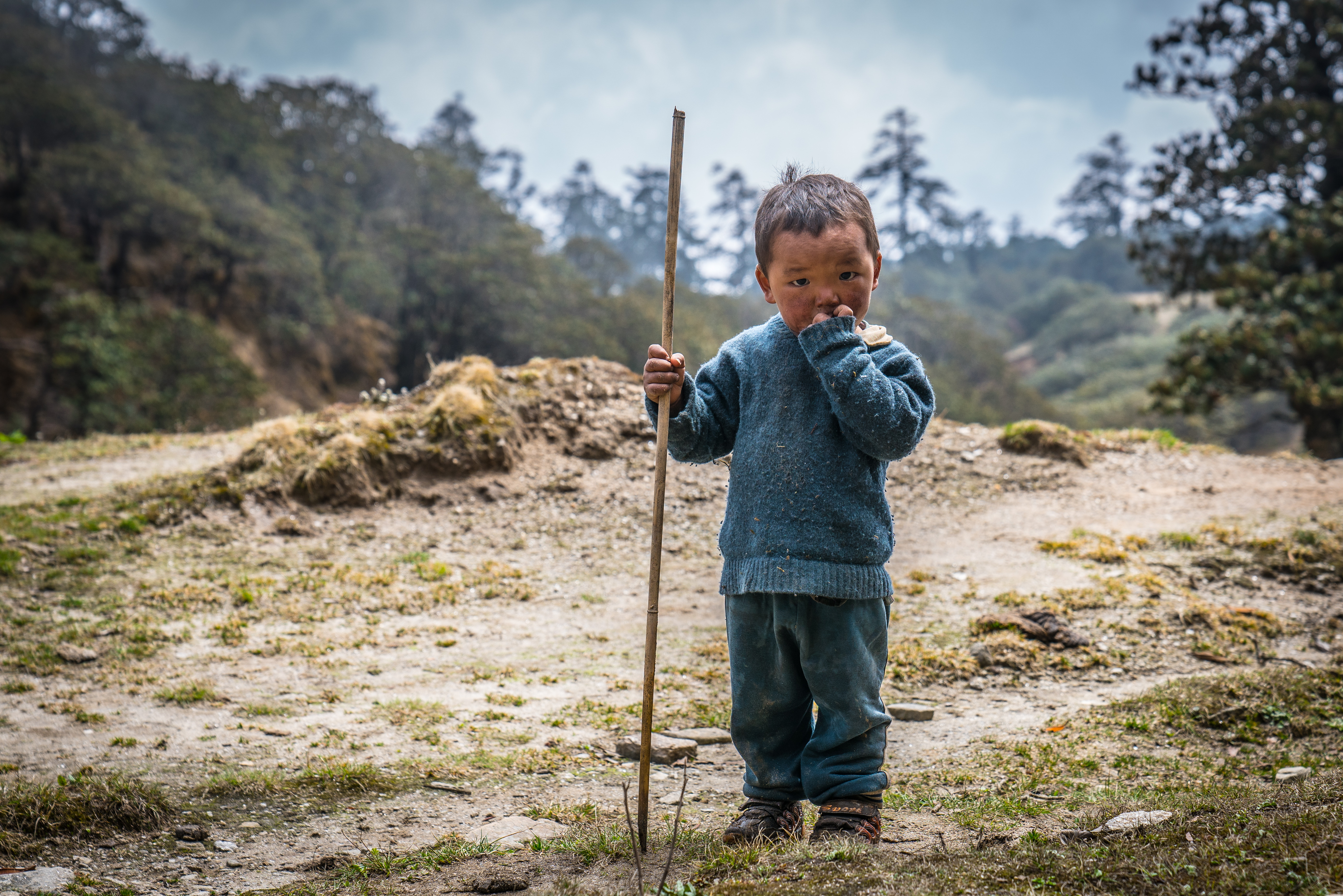 Young Sherpa boy | Nepal